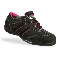 Safety Jogger Ceres S3 Dames Zwart met pink new