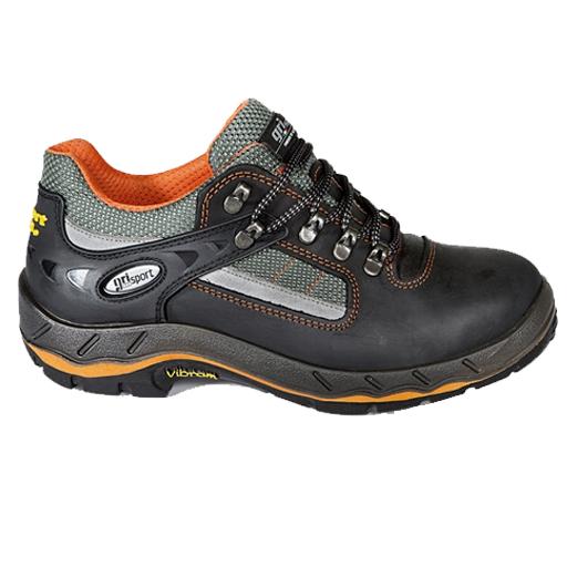 Grisport 71605 S3  | zwart met oranje aspecten.