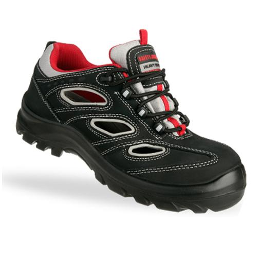Safety Jogger Alsus S1P zwart met rood.  new