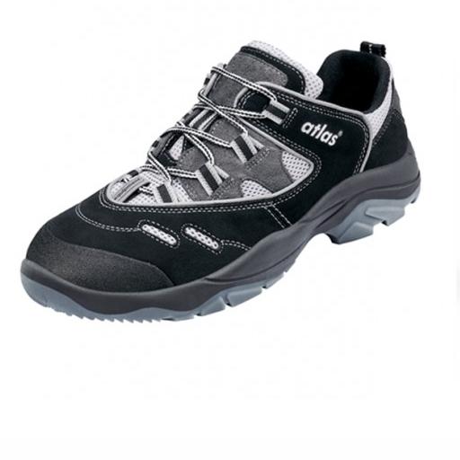 Werkschoenen Atlas CF2 S1 | Zwart met grijs
