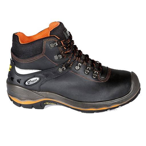 Grisport 72003 S3 | zwart met oranje accenten