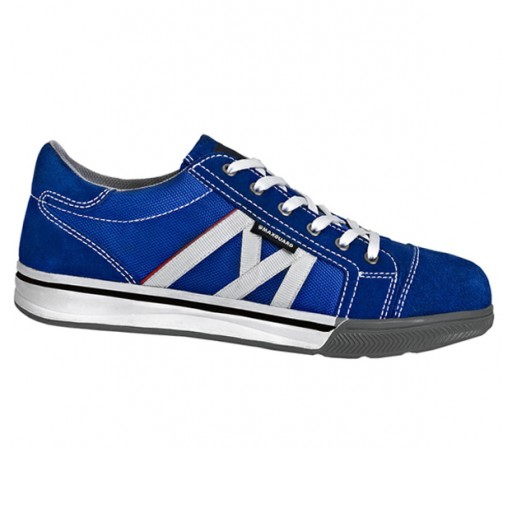 Werkschoenen Maxguard S031 S1P | Blauw met wit