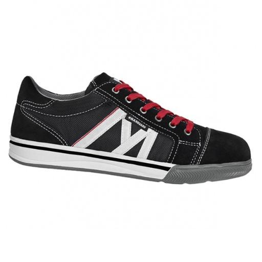 Werkschoenen Maxguard S031 S1P | zwart / rood / Wit