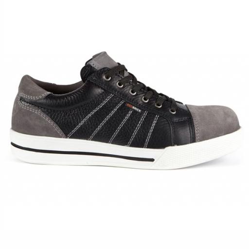 Werkschoenen Redbrick Slate S3 | Zwart met grijze accenten