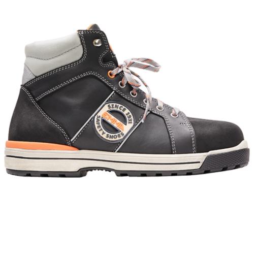 Werkschoenen Heren Sneakers.Werkschoenen Emma Clyde Ruffneck S3 Zwart Hi 167 Werkschoenen