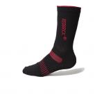 Redbrick 09316 Coolmax | Zwart met rood.