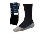 Sokken Bata Cool MSII | Zwart met grijs