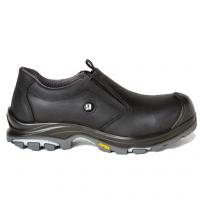 instapper Grisport Camino S3 | Zwart met grijze accenten.