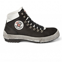 Werkschoenen Redbrick Jumper S3 | Zwart met witte accenten.