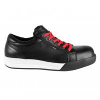 Werkschoenen Redbrick Kryptonite S3 | zwart met witte accenten