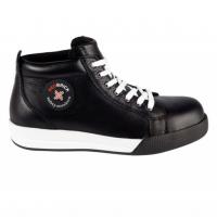 Werkschoenen Redbrick Zircon S3 | zwart met witte accenten