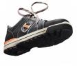Emma Ruffneck S3 ( Sneaker) zwart lo-127 zijn aanzciht