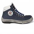 Werkschoenen Redbrick Smooth S3 | Blauw met witte accenten.