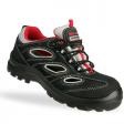 Safety Jogger Alsus S1P zwart met rood.
